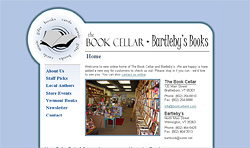 Screenshot of The Book Cellar