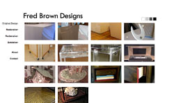Screenshot of Fred Brown Designs