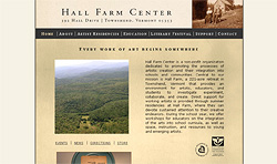 Screenshot of Hall Farm Center