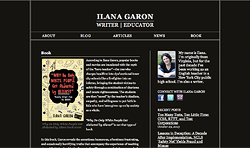 Screenshot of Ilana Garon
