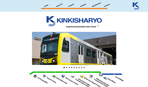 Screenshot of Kinkisharyo