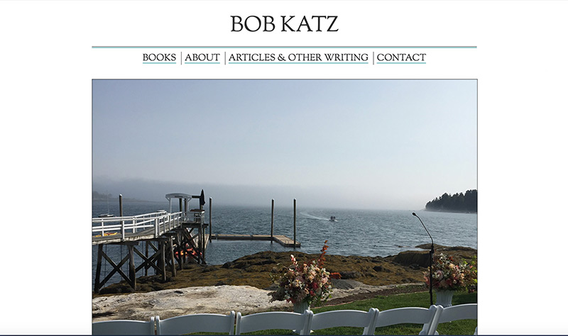 Screenshot of Bob Katz: Author