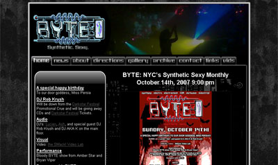 Screenshot of BYTE Party