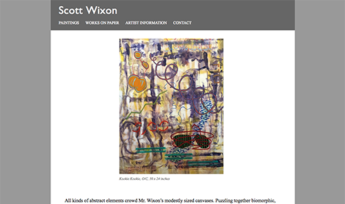 Screenshot of Scott Wixon
