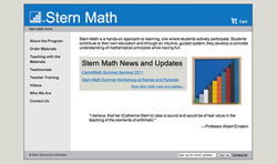 Screenshot of Stern Math